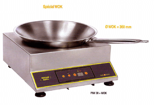 Wok induction cooker